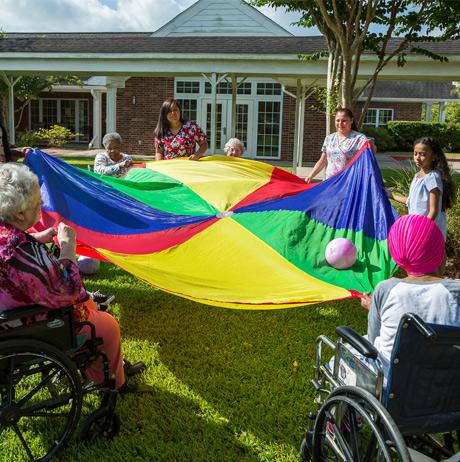 Senior Care Facility Activities